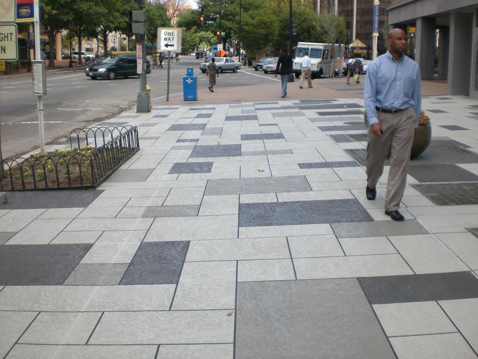 commercial decorative concrete sidewalk los angeles