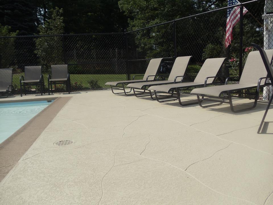 commercial concrete pool deck repair