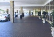 commercial decorative concrete driveway los angeles