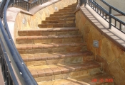 decorative concrete resurfacing stairway los angeles