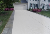concrete driveway overlay