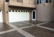 concrete stamping driveway los angeles