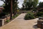 stamped concrete driveway los angeles