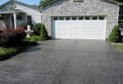 stamped concrete driveway los angeles
