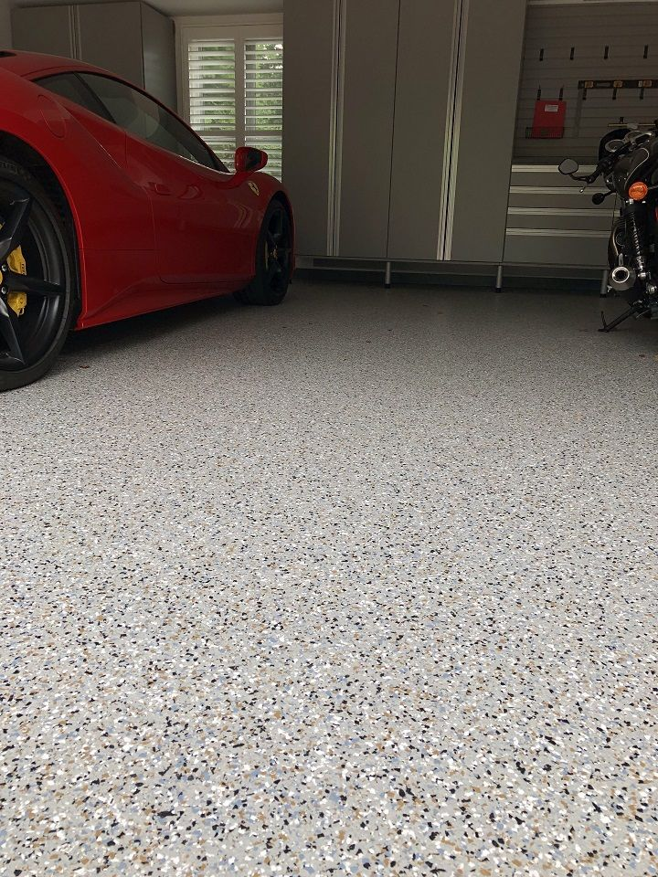Garage Floors Decorative Concrete Surfaces