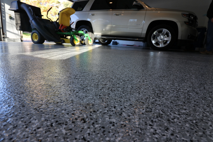 los angeles garage epoxy floors