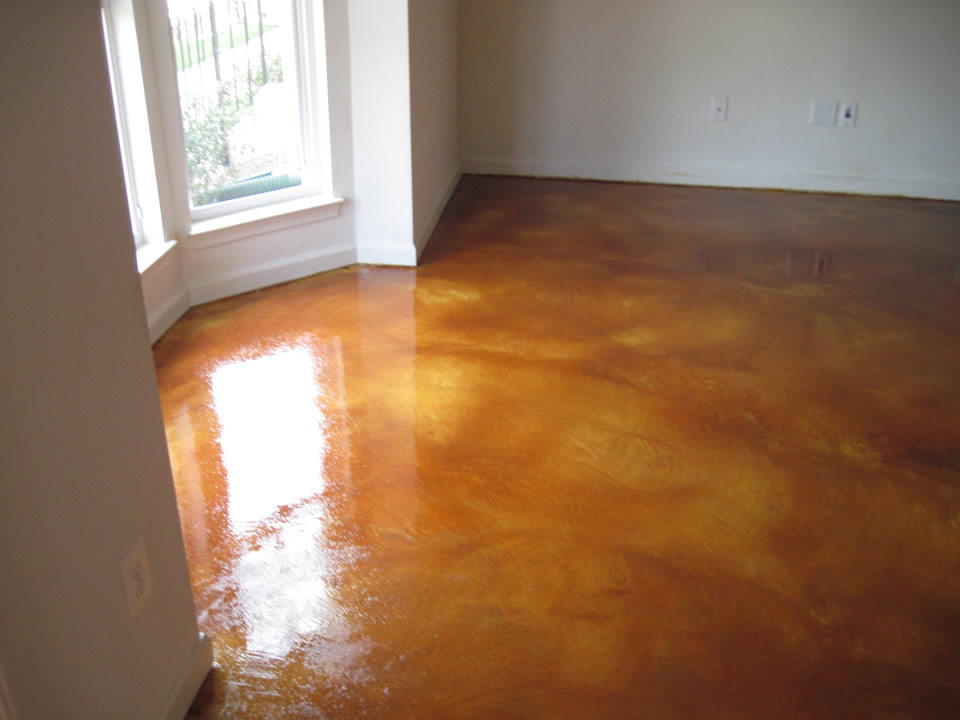 Stained Concrete Floors Los Angeles Acid And Water Based