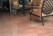 interior concrete floor refinishing
