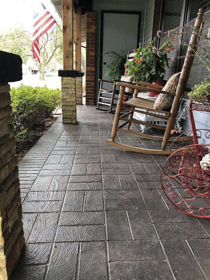 concrete patio ideas los angeles
