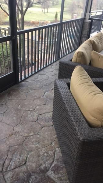 decorative concrete patio los angeles
