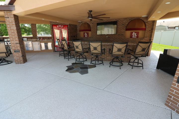 decorative concrete patio los angeles