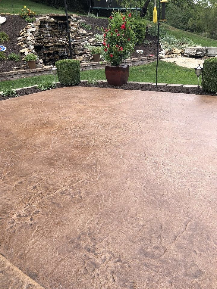stain concrete patio los angeles