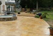 concrete stamping patio los angeles