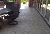 stamped concrete overlay patio los angeles