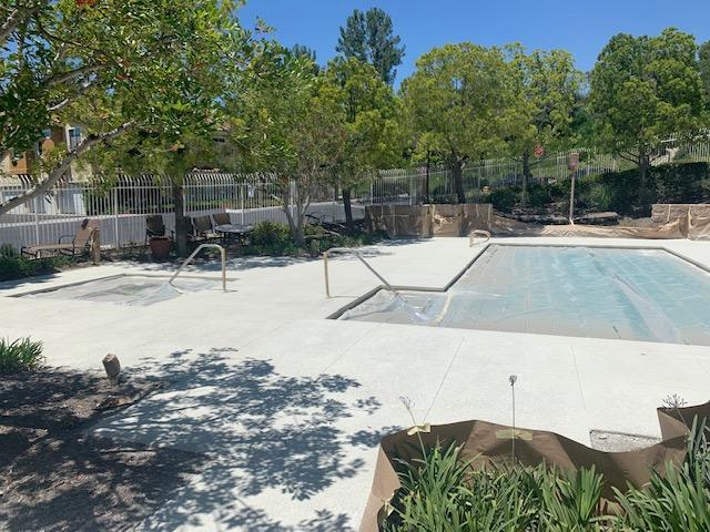 acrylic concrete pool deck los angeles