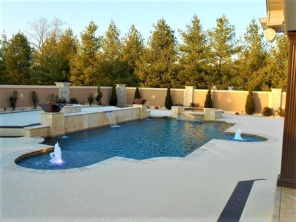 concrete pool deck los angeles