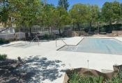 acrylic concrete pool deck los angeles