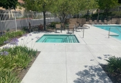 decorative concrete pool decking los angeles