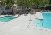 decorative pool deck resurfacing los angeles
