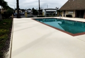 pool deck sealing
