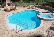 stamped concrete overlay los-angeles