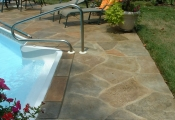 decorative concrete pool deck los angeles