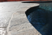 stamped concrete pool deck los angeles