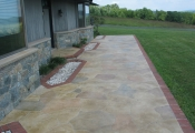 concrete-front-entry-limestone-coating