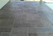 stamped concrete overlay sunstone