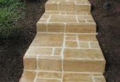 concrete stamping sunstone coating