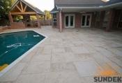 decorative concrete sunstone