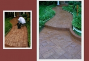 stamped concrete walkway los angeles