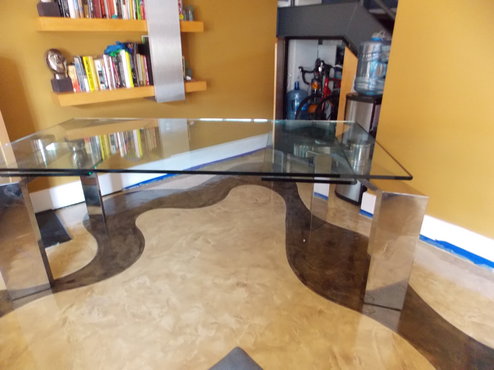 concrete staining los angeles