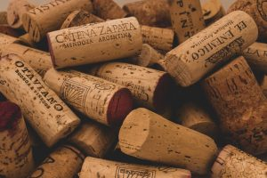corks to be used for creating floors