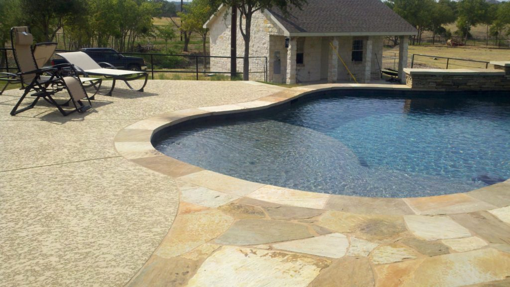 stamped concrete pool deck los angeles ca
