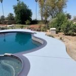 blue-coatied-pool-deck-with-classic-texture