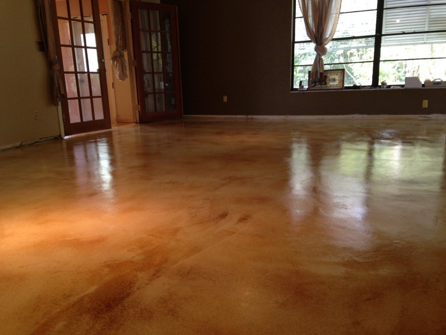 interior stained concrete los angeles ca