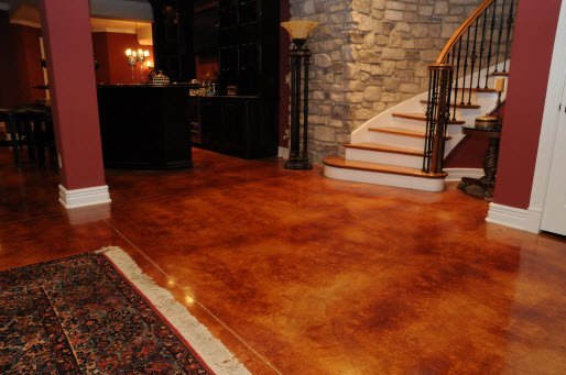acid stained concrete los angeles