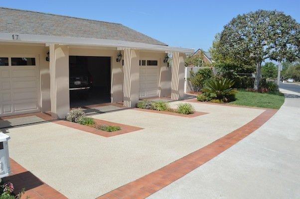 los angeles concrete driveway