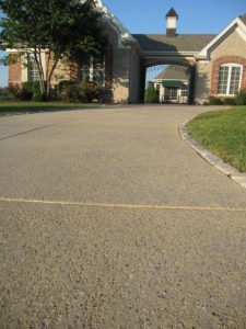 decorative concrete driveway los angeles
