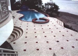 Pasadena, CA Pool Deck Refinishing