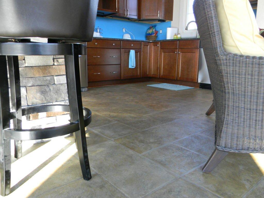 decorative concrete floor Los Angeles, CA