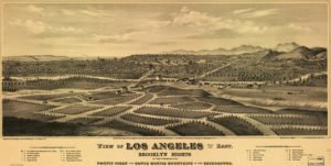 los angeles in the 1700s