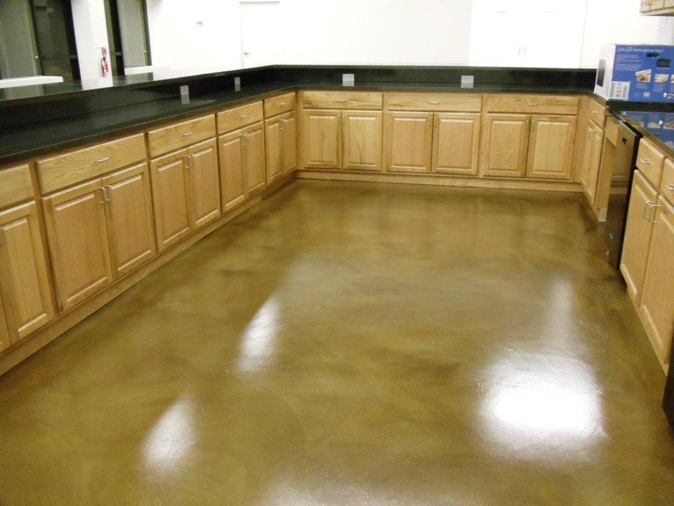 Ideas For Concrete Staining Interior Floors