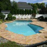 stamped pool deck overlay los angeles