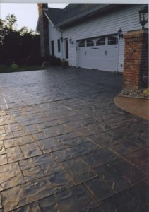 Stamped Concrete Driveway Los Angeles CA