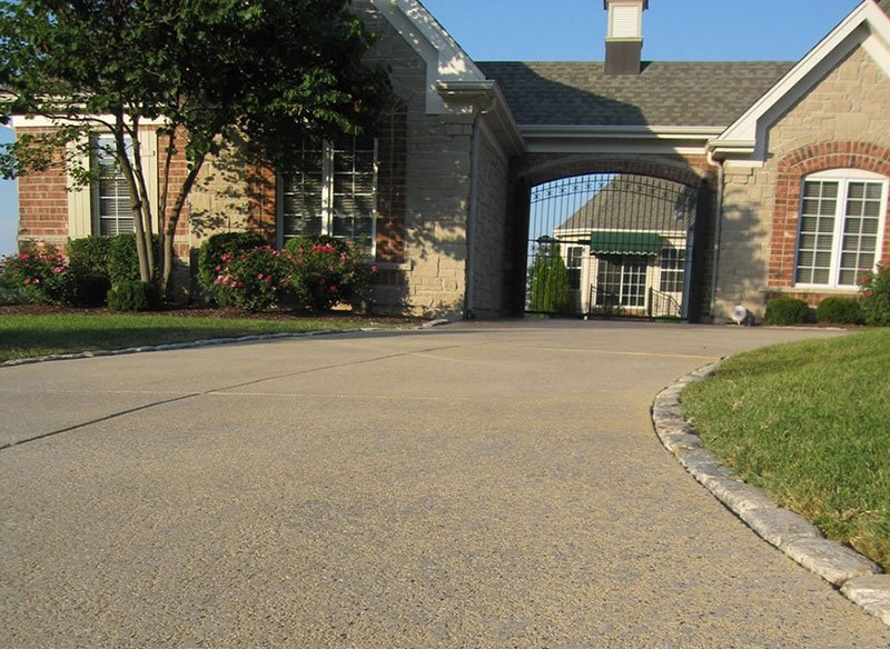 decorative concrete driveway thousand oaks ca