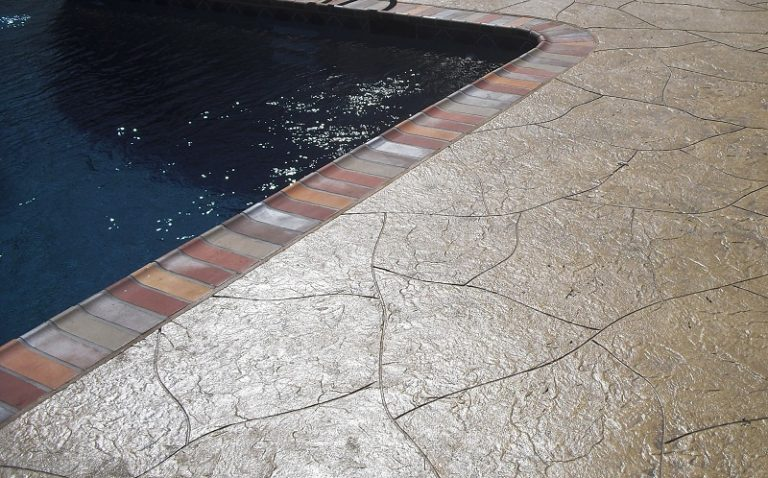 los angeles stamped concrete