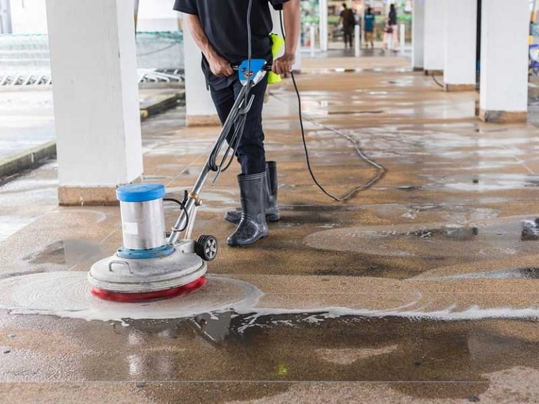 concrete cleaning for repair